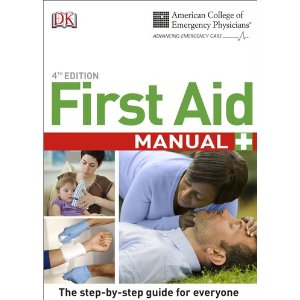 Image Of Cover Of ACEP First Aid Manual