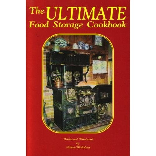 Cover Of A Food Storage Cookbook, With Link to Many Others  Available Online
