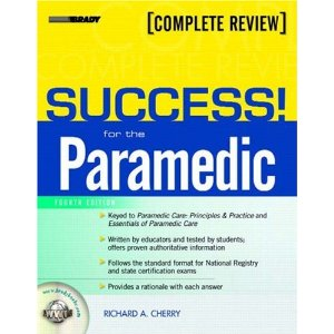 Image Of Cover Of Success For The Paramedic